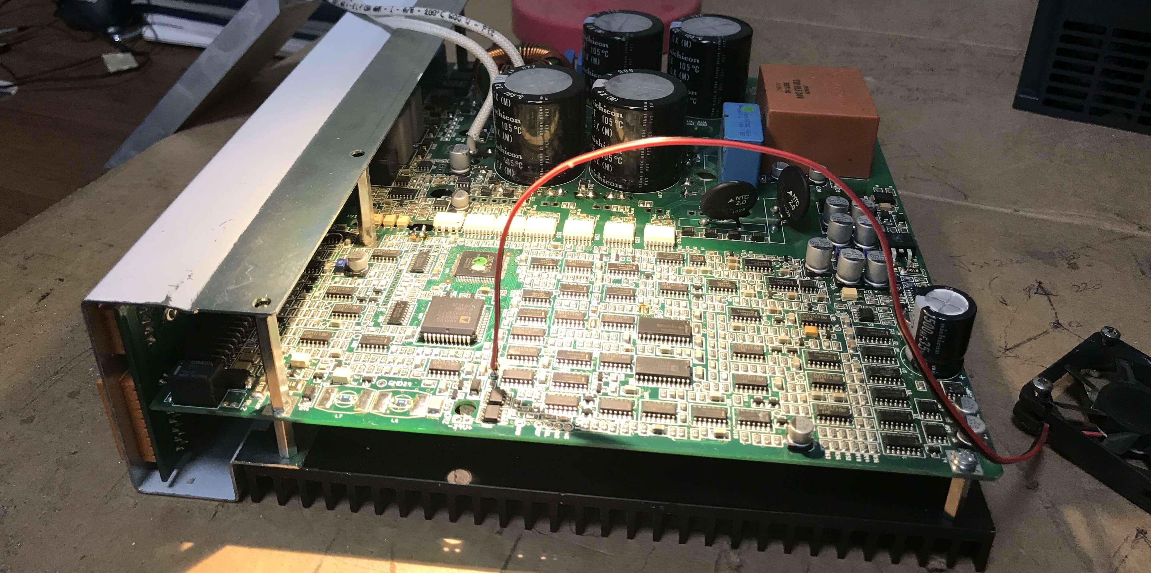ремонт преобразователей частоты